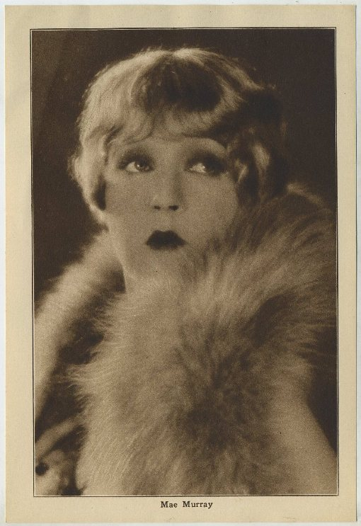 Mae Murray 1920s Motion Picture Magazine Paper Premium Photo