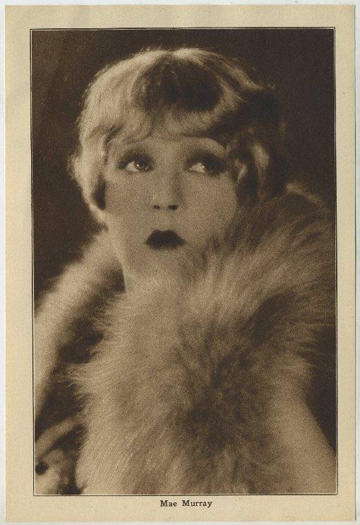 Mae Murray 1920s Motion Picture Magazine Paper Premium Photo