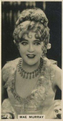 Mae Murray 1925 BAT Tobacco Card