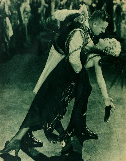 John Gilbert and Mae Murray in The Merry Widow