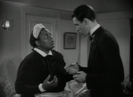 Louise Beavers and James Stewart