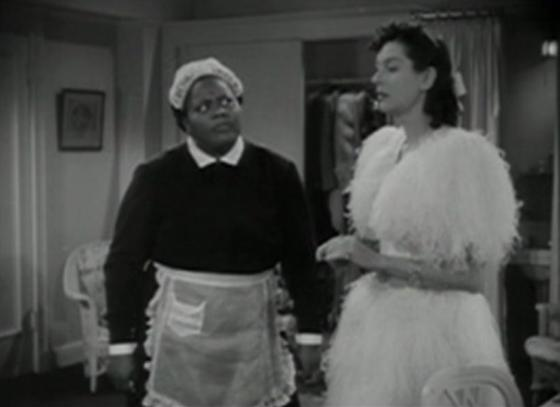 Louise Beavers and Rosalind Russell