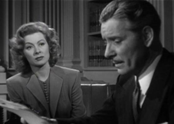 Greer Garson and Ronald Colman