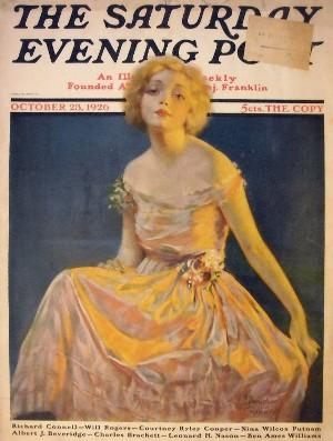 Saturday Evening Post, October 23, 1926 cover