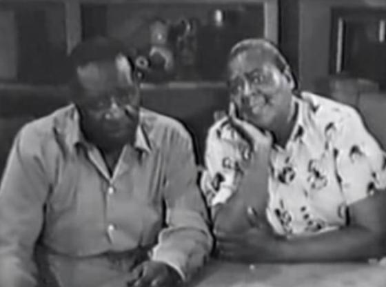 Ernest Whitman with Louise Beavers
