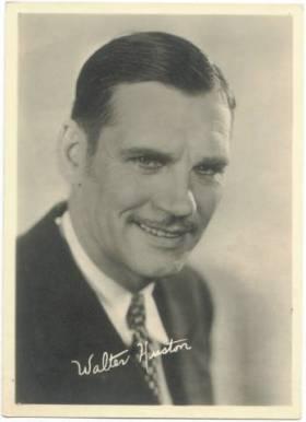 Walter Huston 1920s era 5x7 Fan Photo