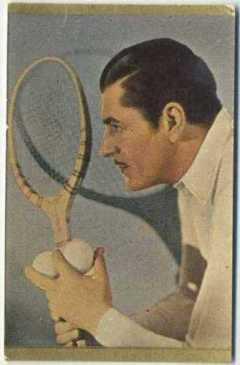 Warner Baxter 1930s Danmarks Trading Card