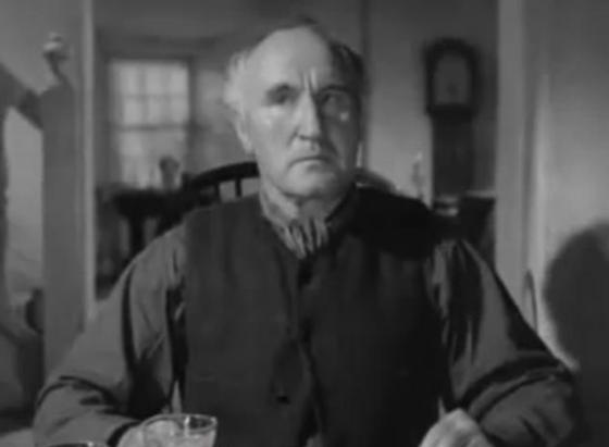 Donald Crisp in How Green Was My Valley
