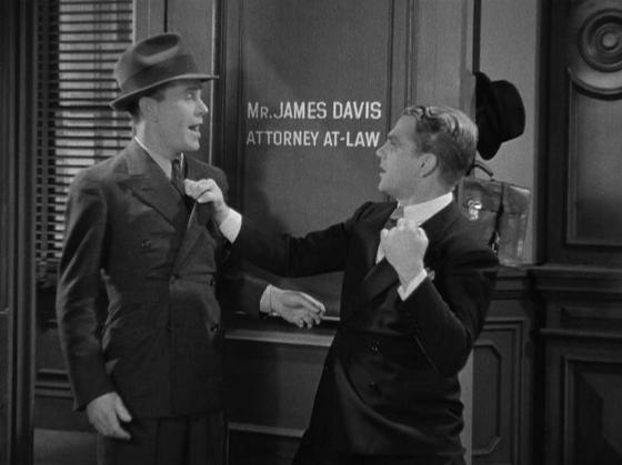 Regis Toomey and James Cagney