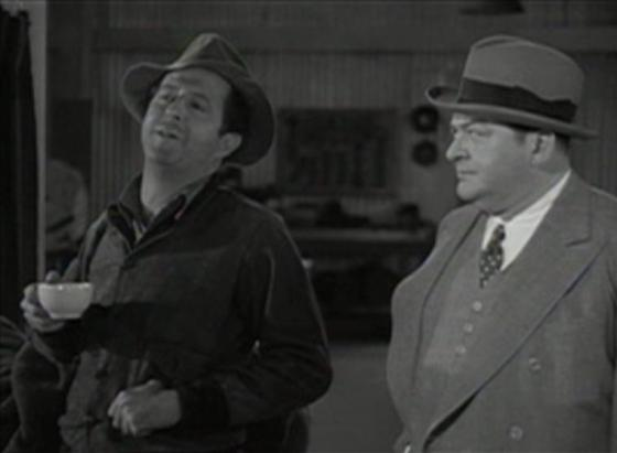 Phil Silvers and Edward Arnold