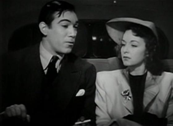 Anthony Quinn and Joan Perry