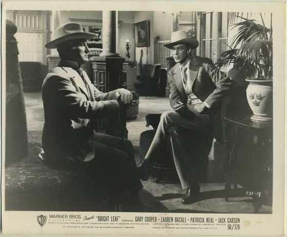 Donald Crisp and Gary Cooper Stil Photo from Bright Leaf