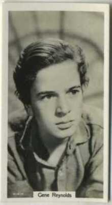 Gene Reynolds 1939 RJ Lea Tobacco Card