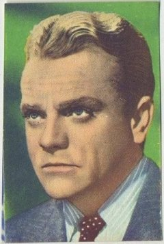 James Cagney 1951 Artisti del Cinema Trading Card