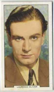 Laurence Olivier 1939 Gallaher My Favourite Part Tobacco Card