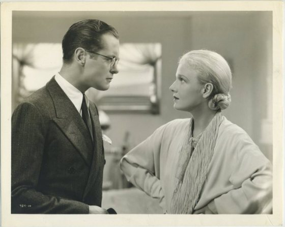 Robert Montgomery and Ann Harding still photo from Biography of a Bachelor Girl