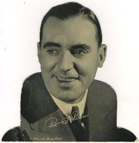 Pat O'Brien 1934 Quaker Oats Standee