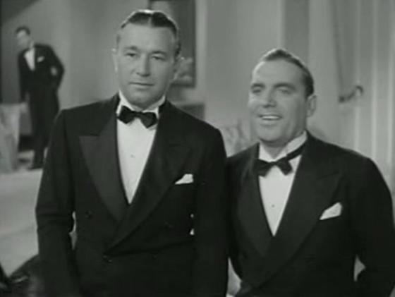 Robert Armstrong and Pat O'Brien
