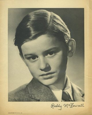 Roddy McDowall 1940s Paper Premium Photo