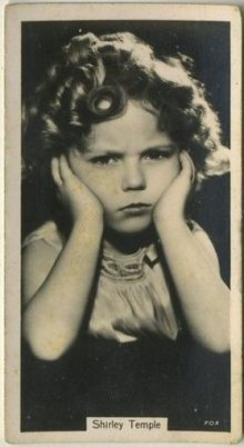 Shirley Temple 1937 John Sinclair Tobacco Card