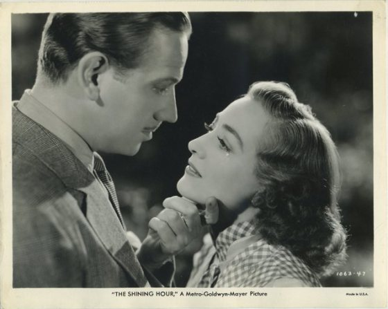 Melvyn Douglas and Joan Crawford Still Photo