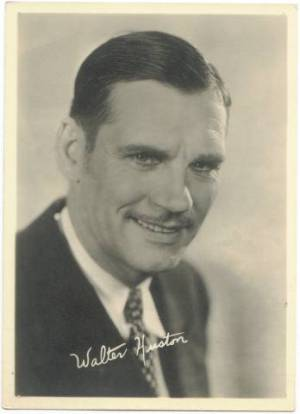 Walter Huston 1930s era 5x7 Fan Photo