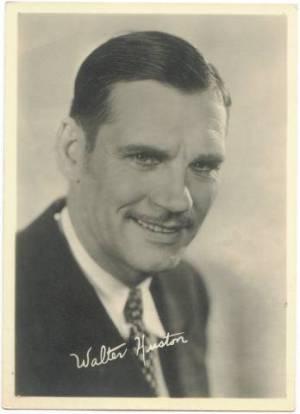 Walter Huston 1930s era 5x7 Fan Photo