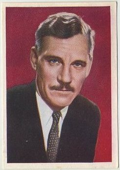 Walter Huston 1936 Nestle Trading Card