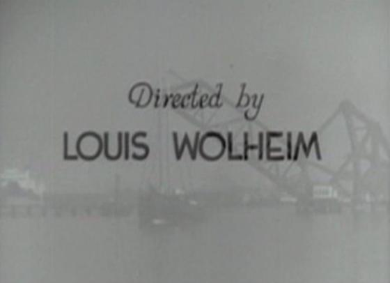 Wolheim's lone directorial credit