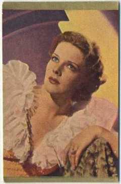 Elissa Landi 1930s Danmarks Trading Card