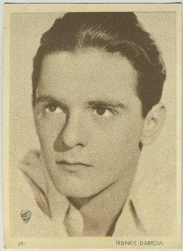 Frankie Darro 1930s Aguila Trading Card