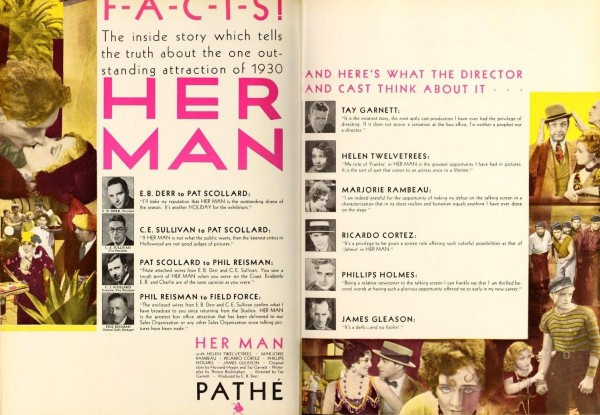 Her Man in Film Daily