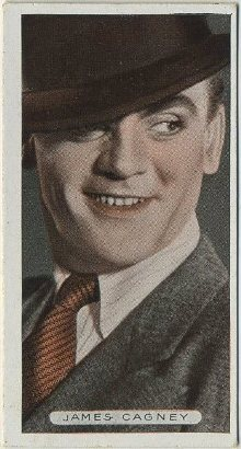 James Cagney 1934 Ardath Famous Film Stars Tobacco Card