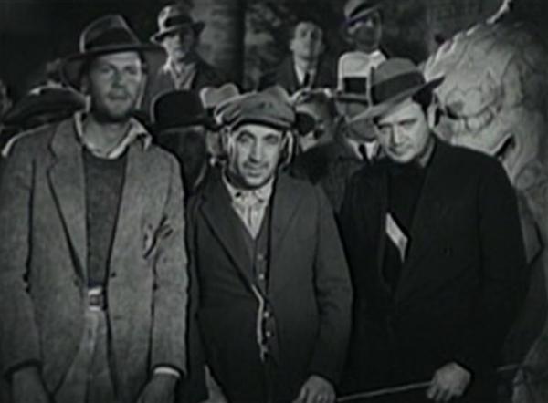 Joel McCrea, Hugh Herbert and Richard Dix