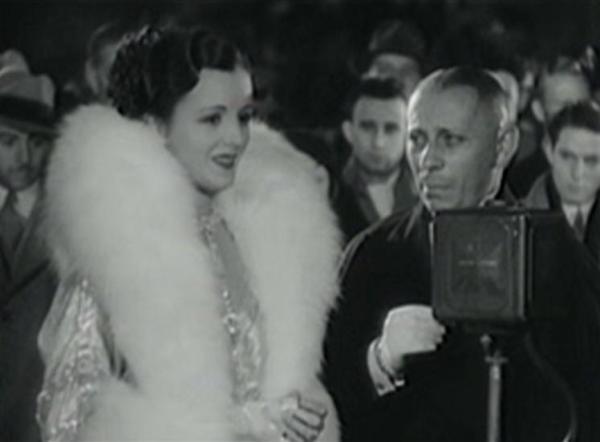 Mary Astor and Erich von Stroheim