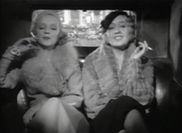 Inez Courtney with Joan Blondell