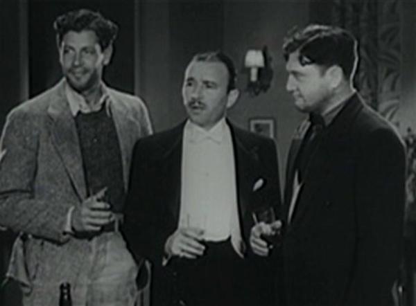 Joel McCrea, Robert Armstrong and Richard Dix