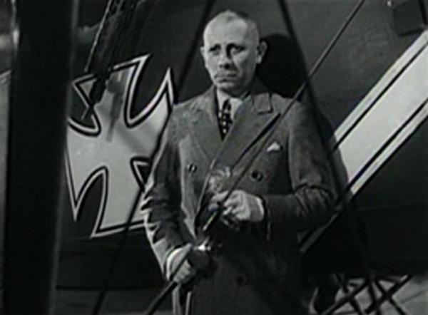 Erich von Stroheim in The Lost Squadron