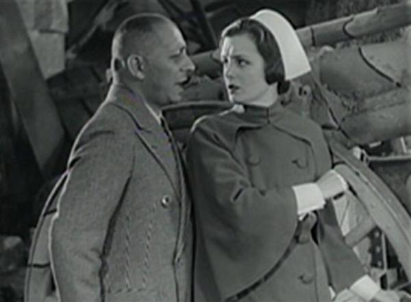 Erich von Stroheim and Mary Astor