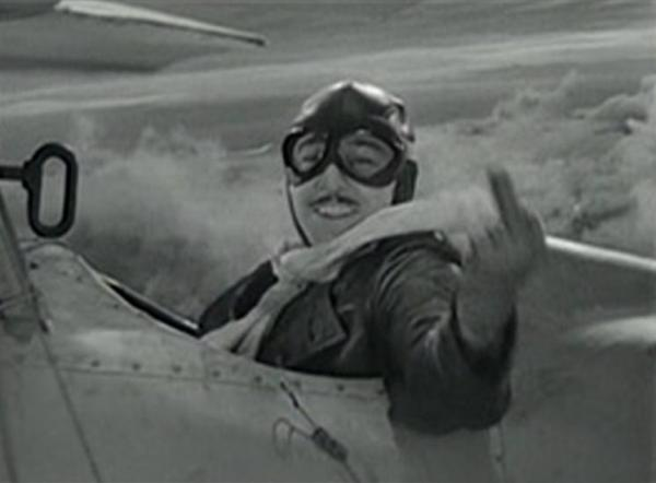 Robert Armstrong in The Lost Squadron