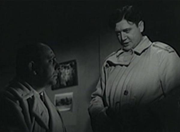 Erich von Stroheim and Richard Dix