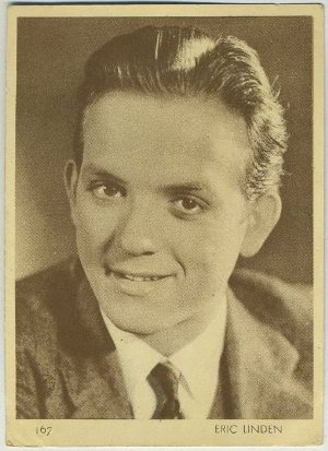 Eric Linden 1930s Aguila Trading Card