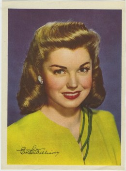 Esther Williams Motion Picture Magazine Premium Photo