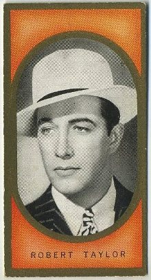 Robert Taylor 1938 Carreras Film Favourites Tobacco Card