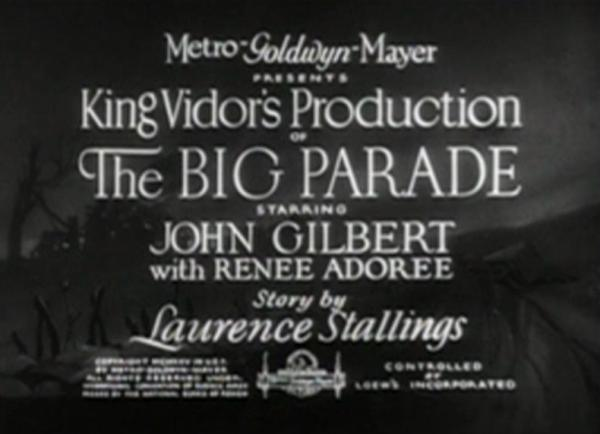 The Big Parade 1925