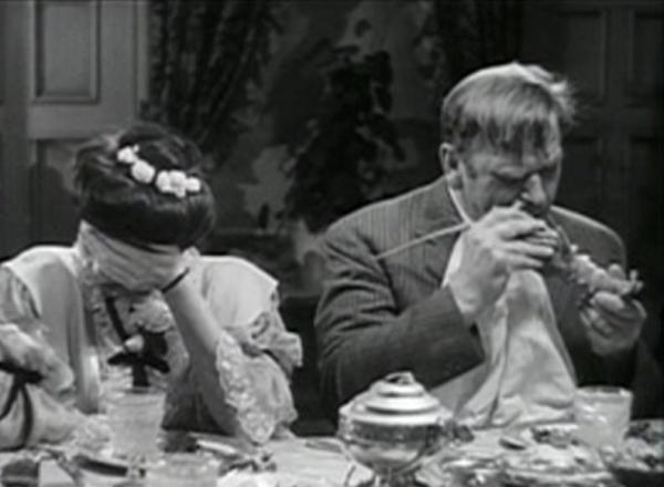 Aline MacMahon and Wallace Beery