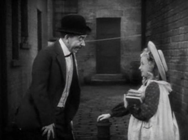 Herbert Mundin and Bonita Granville