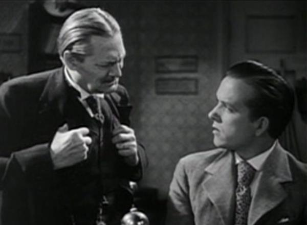 Lionel Barrymore and Eric Linden