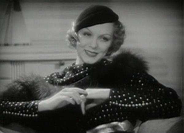 Claire Dodd in Gambling Lady