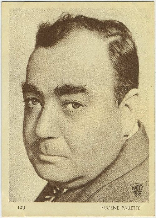 Eugene Pallette 1930s Aguila Chocolate Trading Card